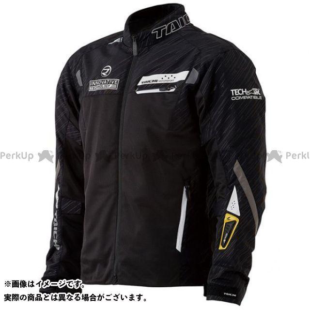 アールエスタイチ ジャケット 2020春夏モデル RSJ326 レーサーメッシュジャケット for テック-AIR(ブラック/ホワイト) サイズ:L RSタイチ