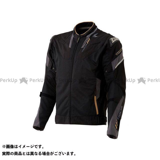 アールエスタイチ ジャケット 2020春夏モデル RSJ332 アームド ハイプロテクション メッシュジャケット(ブラック/ゴールド) サイズ:XL RSタイチ