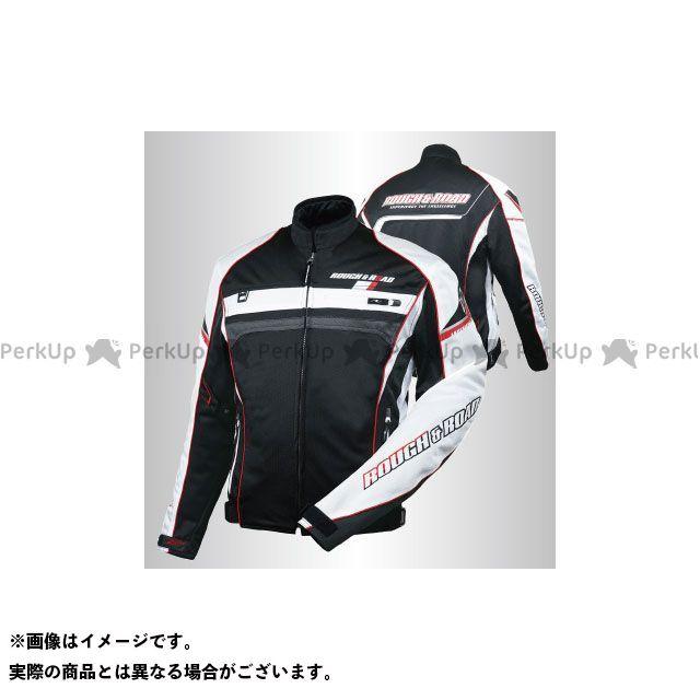 ラフアンドロード ジャケット 2020春夏モデル RR7344 フルメッシュジャケットFP(ブラック×レッド) サイズ:LL ラフ&ロード