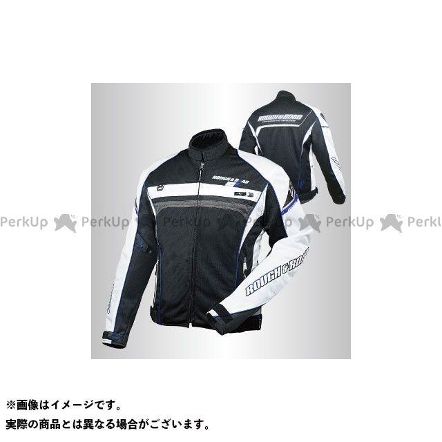 ラフアンドロード ジャケット 2020春夏モデル RR7344 フルメッシュジャケットFP(ブラック×Yブルー) サイズ:L ラフ&ロード