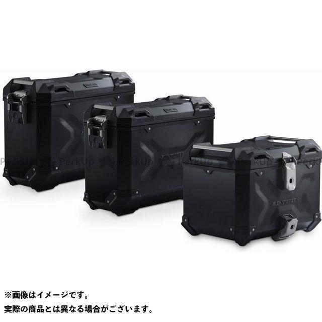 SW-MOTECH CRF1000Lアフリカツイン ツーリング用ボックス Adventure-セット ケース ブラック Honda CRF1000L Africa Twin(15-17)|ADV.01.622.75001/B SWモテック
