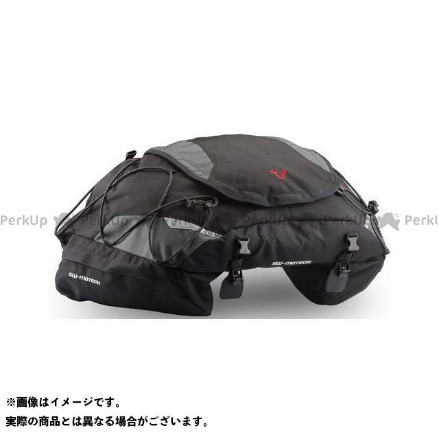 SW-MOTECH ツーリング用バッグ Cargobag テールバッグ 50 l. スティックナイロン ブラック/グレー|BC.HTA.00.306.10001 SWモテック