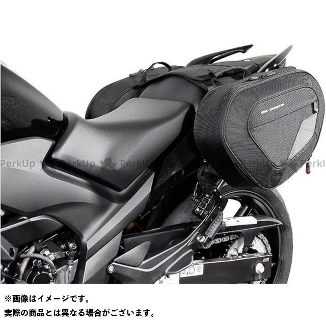 SW-MOTECH ツーリング用バッグ BLAZE サドルバッグセット -ブラック/グレー- Honda CBF500/ 600/ 1000.|BC.HTA.01.740.10201/B SWモテック