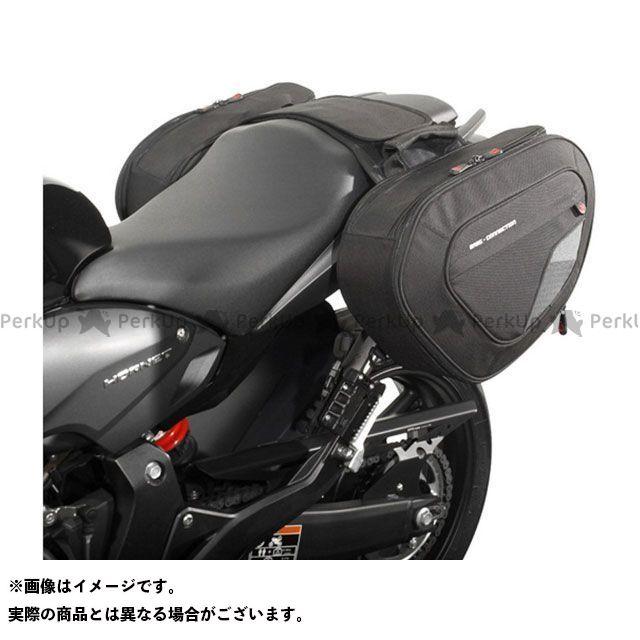【エントリーで更にP5倍】SW-MOTECH CBR600F ホーネット600 ツーリング用バッグ BLAZE サドルバッグセット -ブラック/グレー- Honda CB600F(07-13)/CBR600F(11-).|BC.HTA.01.740. …