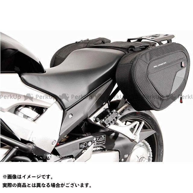 【エントリーで更にP5倍】SW-MOTECH VFR800X クロスランナー ツーリング用バッグ BLAZE サドルバッグセット -ブラック/グレー- Honda VFR 800 X Crossrunner(11-).|BC.HTA.01.740.10…