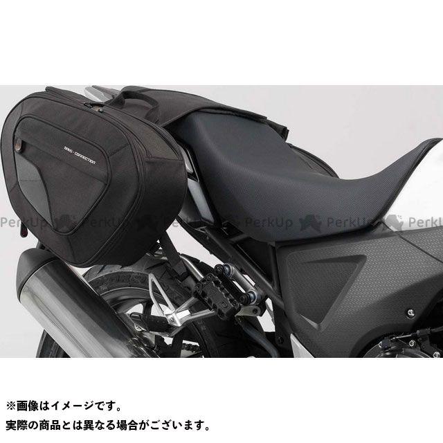 【エントリーで更にP5倍】SW-MOTECH CB500X ツーリング用バッグ BLAZE サドルバッグセット -ブラック/グレー- Honda CB500X(13-).|BC.HTA.01.740.10901/B SWモテック