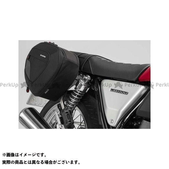 SW-MOTECH CB1100EX ツーリング用バッグ BLAZE H(ブレイズH)サドルバッグセット ブラック/グレー Honda CB1100 EX(16-) BC.HTA.01.740.11301/B SWモテック