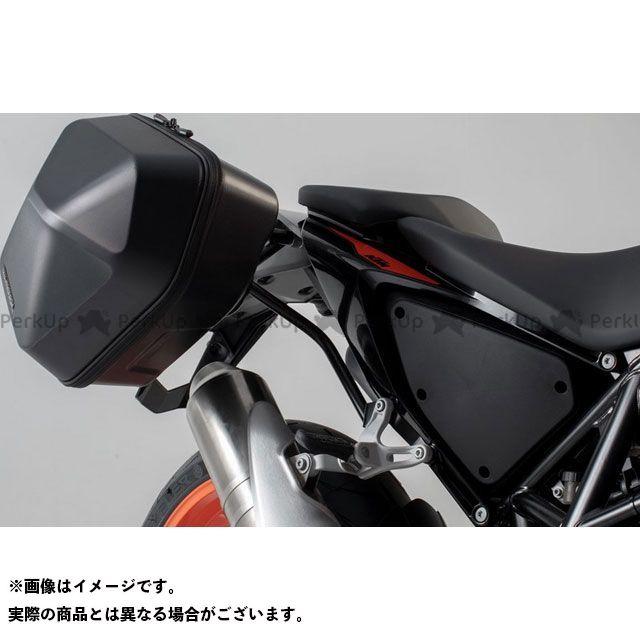 【エントリーで更にP5倍】SW-MOTECH その他のモデル ツーリング用ボックス URBAN ABS サイドケースシステム 2x 16 l. KTM 690 Duke(16-).|BC.HTA.04.181.30000/B SWモテック
