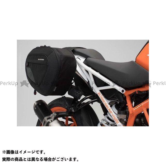 SW-MOTECH 390デューク その他のモデル ツーリング用バッグ BLAZE H サドルバッグセット -ブラック/グレー- KTM 125/390 Duke(17-).|BC.HTA.04.740.10401/B SWモテック