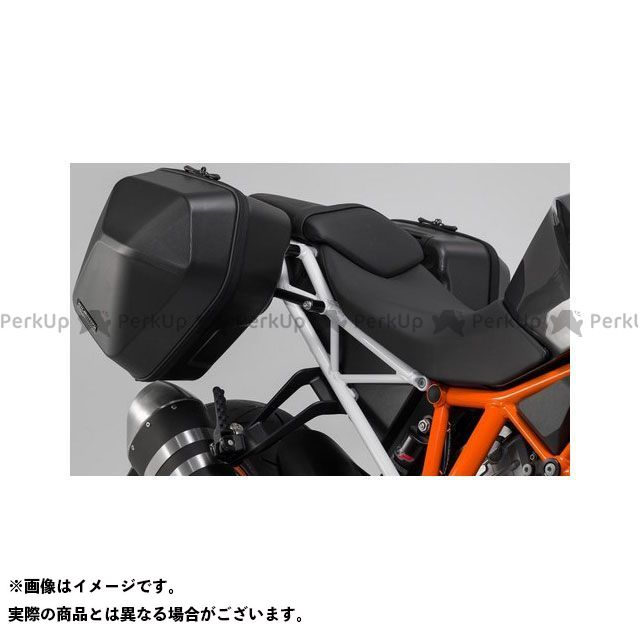 SW-MOTECH 1290スーパーデュークR ツーリング用ボックス URBAN ABS サイドケースシステム 2x 16 l. KTM 1290 Super Duke R(16-)|BC.HTA.04.881.30000/B SWモテック