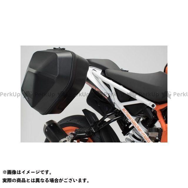 SW-MOTECH 390デューク その他のモデル ツーリング用ボックス URBAN ABS サイドケースシステム 2x 16 l. KTM 125/390 Duke(17-) BC.HTA.04.882.30000/B SWモテック