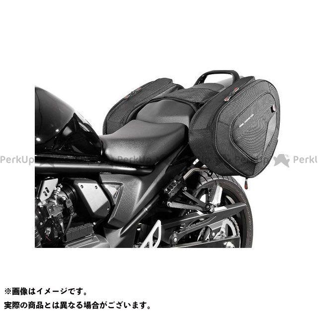 SW-MOTECH バンディット1250 バンディット650 バンディット650S ツーリング用バッグ BLAZE H(ブレイズH)サドルバッグセット ブラック/グレー Suzuki GSF650/S(09-)GSF1250(10-)|BC.HTA. …