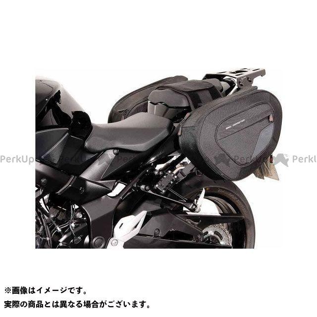 SW-MOTECH GSR750 GSX-S750 ツーリング用バッグ BLAZE H(ブレイズH)サドルバッグセット ブラック/グレー Suzuki GSR750(11-)/ GSX-S750(17-) BC.HTA. SWモテック