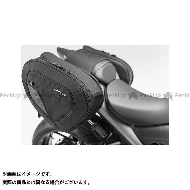 SW-MOTECH GSX-S1000 GSX-S1000F ツーリング用バッグ BLAZE H(ブレイズH)サドルバッグセット ブラック/グレー Suzuki GSR750(11-)/ GSX-S750(17-)|BC.HTA. SWモテック