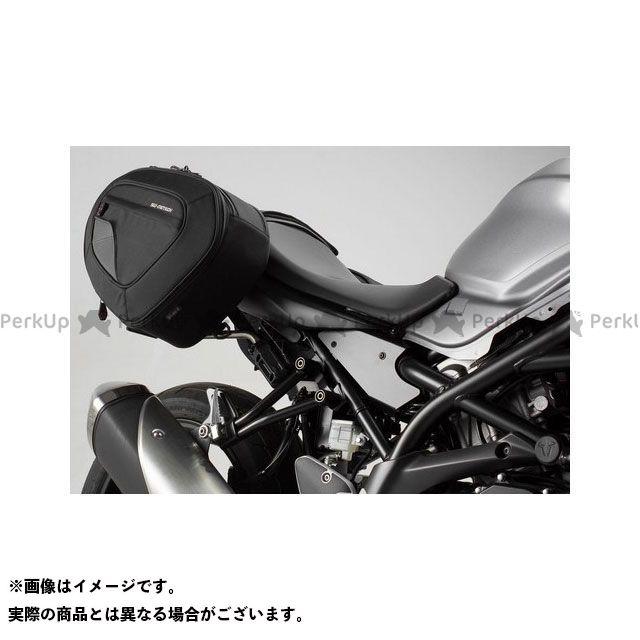 【エントリーで更にP5倍】SW-MOTECH SV650 SV650X ツーリング用バッグ BLAZE H(ブレイズH)サドルバッグセット ブラック/グレー Suzuki SV650 ABS(15-)|BC.HTA.05.740.10801/ SWモテ…