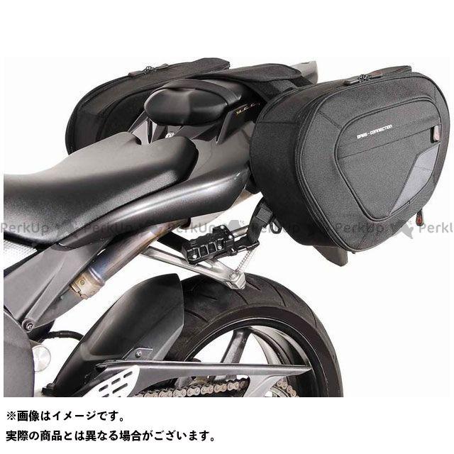 【エントリーで更にP5倍】SW-MOTECH YZF-R1 ツーリング用バッグ BLAZE H(ブレイズH)サドルバッグセット ブラック/グレー Yamaha YZF-R1(07-08)|BC.HTA.06.740.10601/B SWモテック