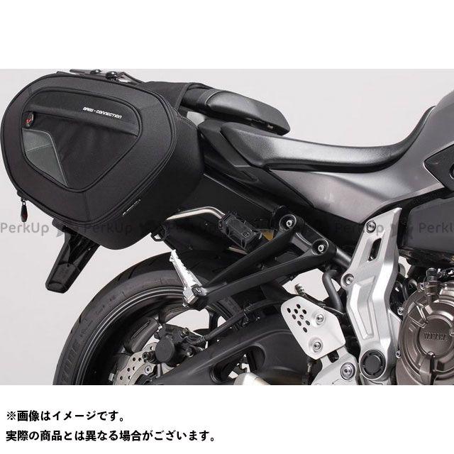 SW-MOTECH MT-07 MT-07 モトケージ ツーリング用バッグ BLAZE サドルバッグセット -ブラック/グレー- Yamaha MT-07/Moto Cage/Tracer.|BC.HTA.06.740.108 SWモテック