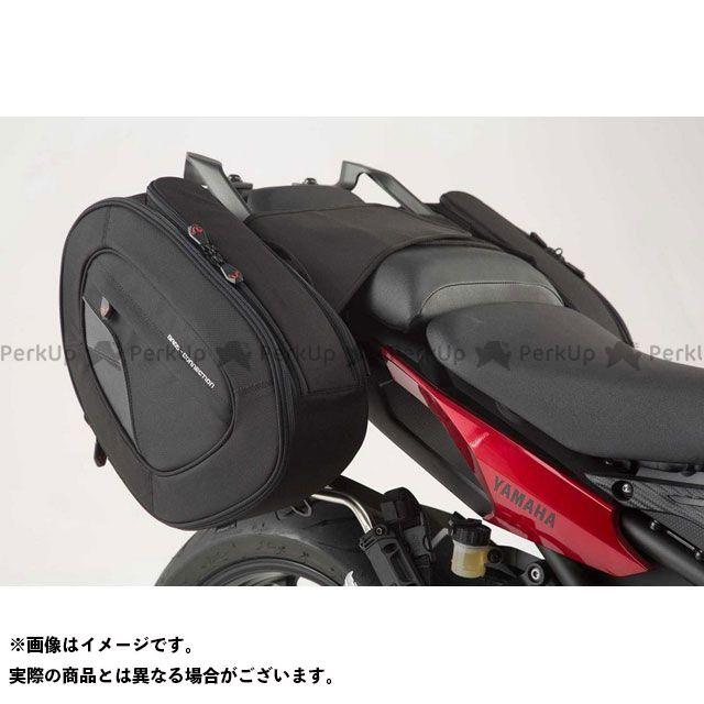 SW-MOTECH トレーサー900・MT-09トレーサー ツーリング用バッグ BLAZE サドルバッグセット -ブラック/グレー- Yamaha MT-09 Tracer(14-17).|BC.HTA.06.740.11001/B SWモテック