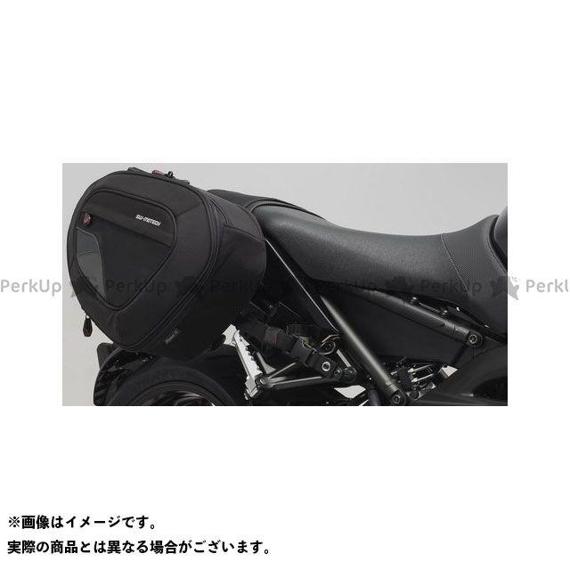 SW-MOTECH MT-09 ツーリング用バッグ BLAZE H(ブレイズH)サドルバッグセット ブラック/グレー Yamaha MT-09(17-) BC.HTA.06.740.11401/B SWモテック