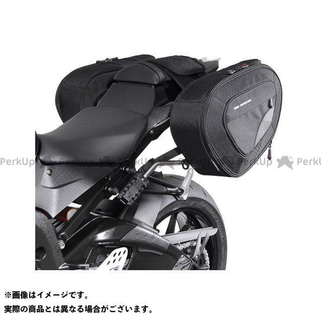 SW-MOTECH S1000R S1000RR ツーリング用バッグ BLAZE H(ブレイズH)サドルバッグセット ブラック/グレー BMW S 1000 RR(12-14)/S 1000 R(14-)|BC.HT SWモテック