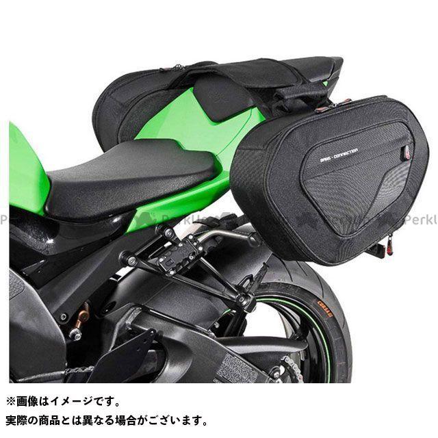 SW-MOTECH ニンジャZX-10R ツーリング用バッグ BLAZE サドルバッグセット -ブラック/グレー- Kawasaki Ninja ZX-10R(07-10).|BC.HTA.08.740.10001/B SWモテック