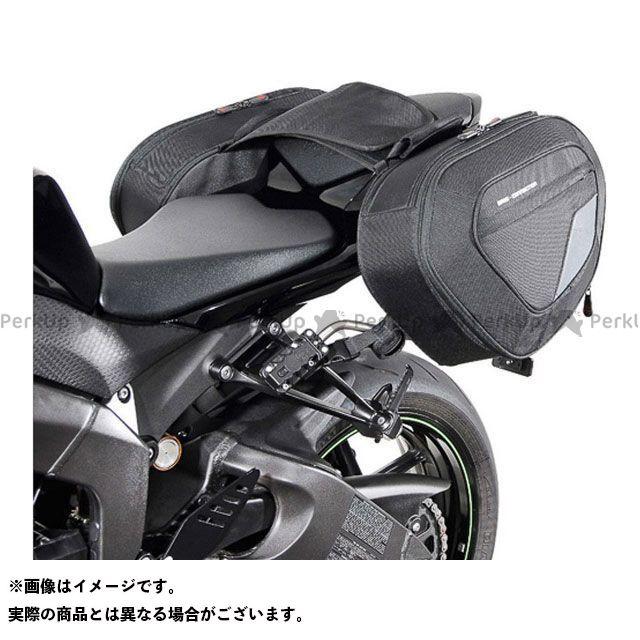 SW-MOTECH ニンジャZX-6R ツーリング用バッグ BLAZE サドルバッグセット -ブラック/グレー- Ninja ZX-6R(09-12)/ZX-6R 636(13-).|BC.HTA.08.740 SWモテック