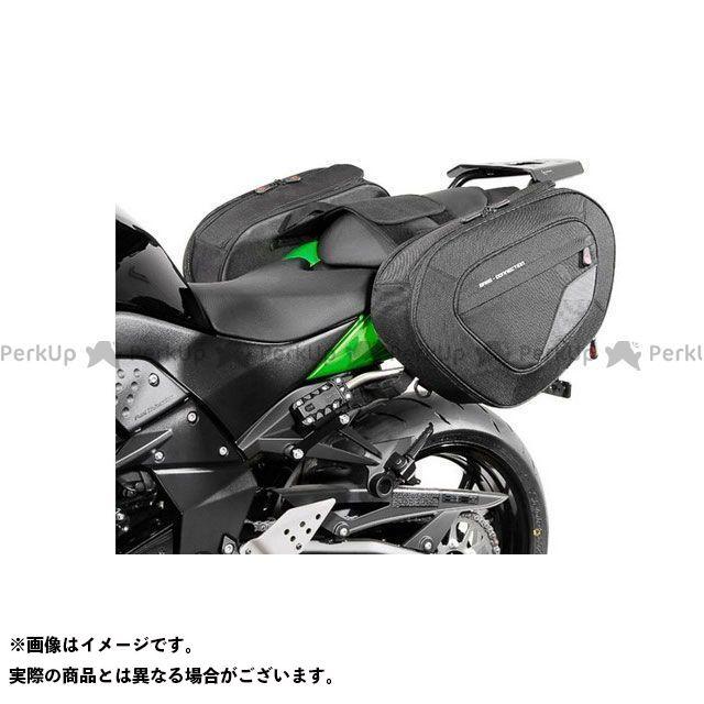 SW-MOTECH Z750 Z750R ツーリング用バッグ BLAZE H(ブレイズH)サドルバッグセット ブラック/グレー Kawasaki Z750(07-12)/ Z750 R(11-12)|BC.HT SWモテック