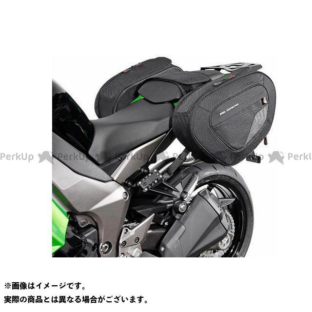 SW-MOTECH ニンジャ1000・Z1000SX ツーリング用バッグ BLAZE H(ブレイズH)サドルバッグセット ブラック/グレー Kawasaki Z1000 SX(11-) BC.HTA.08.740.10501 SWモテック
