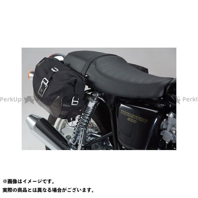 SW-MOTECH ボンネビル スラクストン ツーリング用バッグ レジェンドギア サイドバッグセット Triumph Thruxton 900(04-) SWモテック