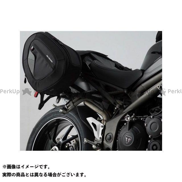 SW-MOTECH スピードトリプル ツーリング用バッグ BLAZE H(ブレイズH)サドルバッグセット ブラック/グレー Triumph Speed Triple S/R(15-)|BC.HTA.11. SWモテック