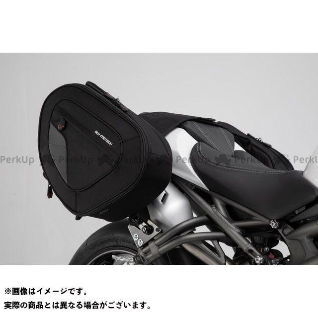 SW-MOTECH スピードトリプルS ツーリング用バッグ BLAZE H サドルバッグセット. ブラック/グレー. Triumph Speed Triple 1050(18-).|BC.HTA.11.7 SWモテック
