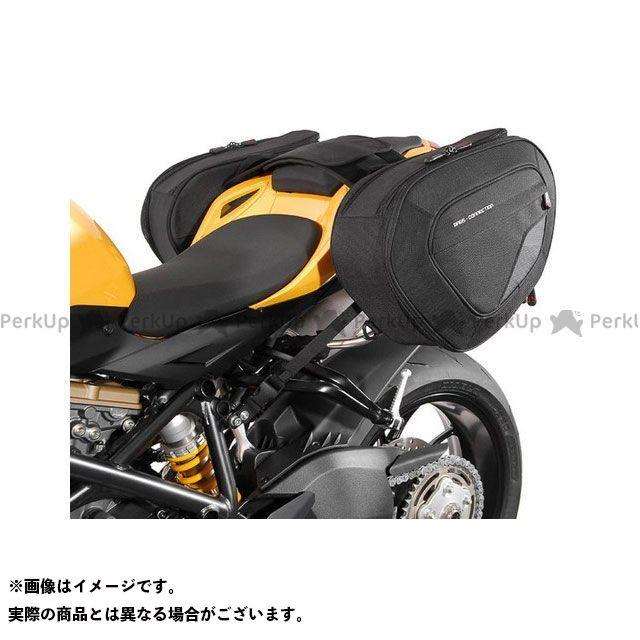 SW-MOTECH ストリートファイター848 ツーリング用バッグ BLAZE H(ブレイズH)サドルバッグセット ブラック/グレー Triumph Speed Triple S/R(15-)|BC.HTA.22. SWモテック