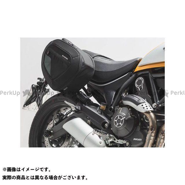 SW-MOTECH ツーリング用バッグ BLAZE H(ブレイズH)サドルバッグセット ブラック/グレー Ducati Scrambler(14-)|BC.HTA.22.740.10501/ SWモテック