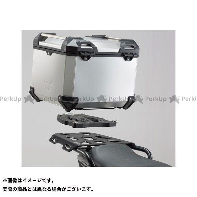 SW-MOTECH ツーリング用ボックス TRAX(トラックス)ADV トップケースシステム シルバー - Honda NC700 S/X(11-)NC750 S/X(14-15) SWモテック