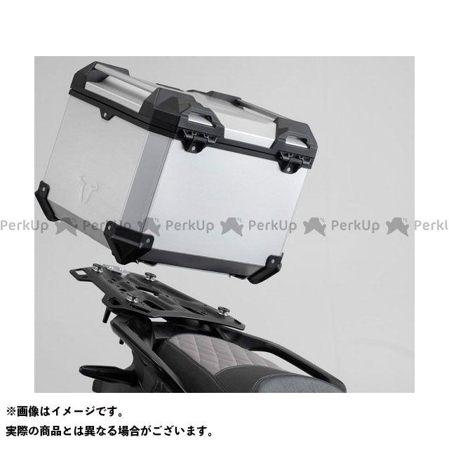 SW-MOTECH Vストローム1000XT Vストローム650XT ツーリング用ボックス TRAX ADV トップケースシステム-シルバー-Suzuki V-Strom 650(17-)/1000(14-).|GPT.05.440.7000 SWモテ…