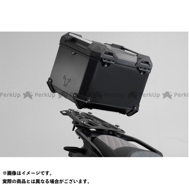 SW-MOTECH Vストローム650XT ツーリング用ボックス TRAX ADV トップケース システム. シルバー Suzuki DL650/V-Strom 650 XT(11-16).|GPT.05 SWモテック