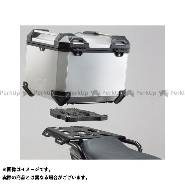 SW-MOTECH ツーリング用ボックス TRAX(トラックス)ADV トップケースシステム シルバー - Ducati Multistrada 1200/S - Hyperstrada SWモテック