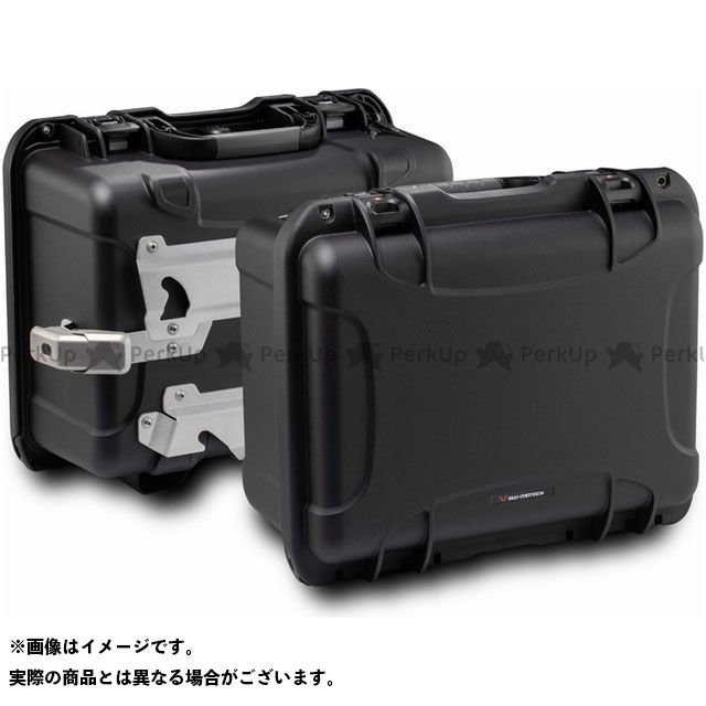 SW-MOTECH アフリカツイン ツーリング用ボックス NANUK side case systemBlack. Honda XRV 750 Africa Twin(92-03).|KFT.01.079.40000/B SWモテック