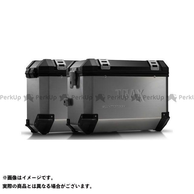 SW-MOTECH アフリカツイン ツーリング用ボックス TRAX(トラックス)ION アルミケースシステム シルバー45/37 L. Honda XRV750 アフリカツイン(93-03)|KFT.01.07 SWモテック