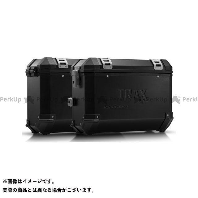 SW-MOTECH ツーリング用ボックス TRAX(トラックス)ION アルミケースシステム ブラック 37/37 L. Honda NC700 S/X、NC750 S/X.|KFT.01.12 SWモテック