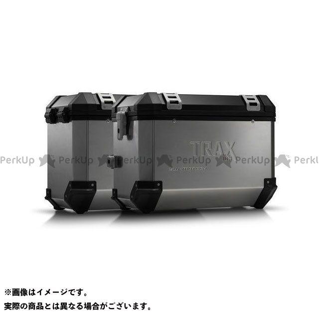 SW-MOTECH ツーリング用ボックス TRAX ION アルミ ケースシステム-シルバー-45/45 l. Honda NC700 S/X、NC750 S/X.|KFT.01.129.50101 SWモテック