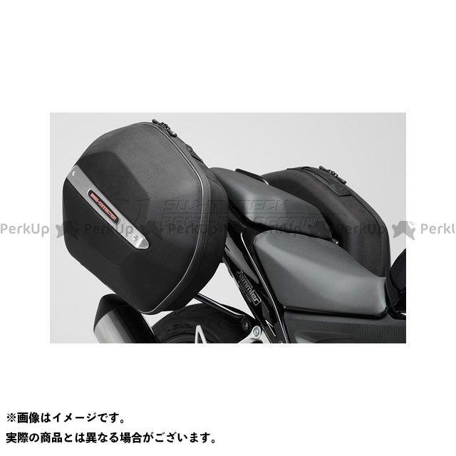 SW-MOTECH CB500F CB500X CBR500R ツーリング用ボックス AERO ABS サイドケースシステム. ABS/600D Nylon ブラック Honda CB500R/X、CBR500RR. -ブラック- SWモテック
