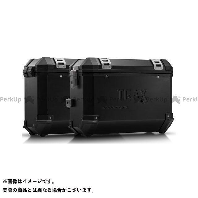 SW-MOTECH CB500F CB500X CBR500R ツーリング用ボックス TRAX(トラックス)ION アルミケースシステム ブラック 37/37 L. CB500X、CB500F/CBR500R(-15)|KFT.01 SWモテック