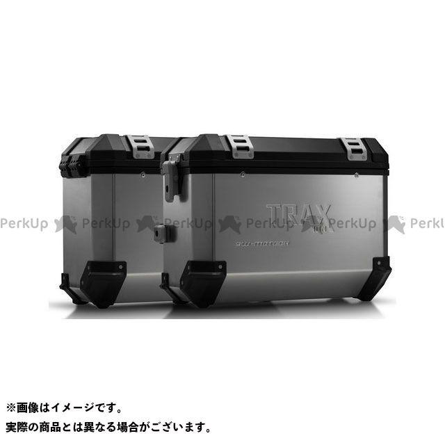 SW-MOTECH CB500F CB500X CBR500R ツーリング用ボックス TRAX(トラックス)ION アルミケースシステム シルバー 37/37 L. CB500X、CB500F/CBR500R(-15)|KFT.01 SWモテック