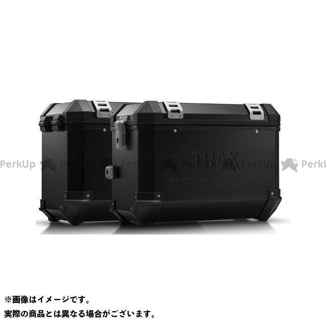 【エントリーで更にP5倍】SW-MOTECH CB500F CB500X CBR500R ツーリング用ボックス TRAX(トラックス)ION アルミケースシステム ブラック 45/45 L. CB500X、CB500F/CBR500R(-15)|KFT…