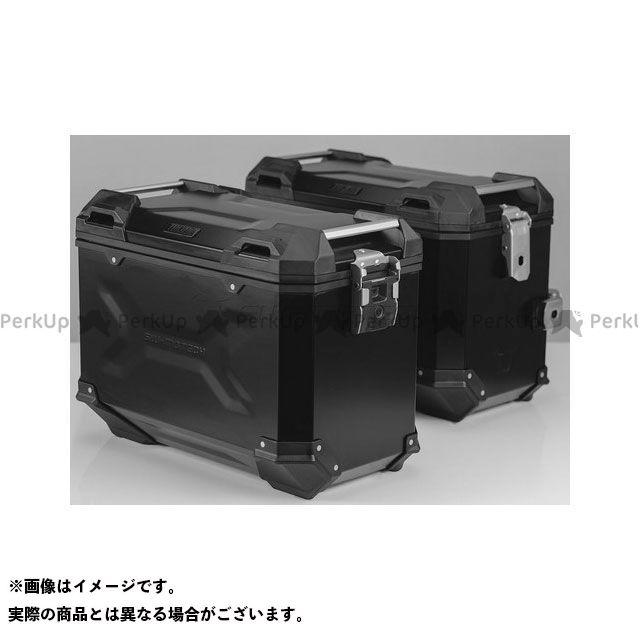 SW-MOTECH CB500F CB500X CBR500R ツーリング用ボックス 【トラックス ADV】 アルミニウム パニアシステムセット、ブラック 45/45 l、CB500X、CB500F/CBR500R(-15) SWモテック