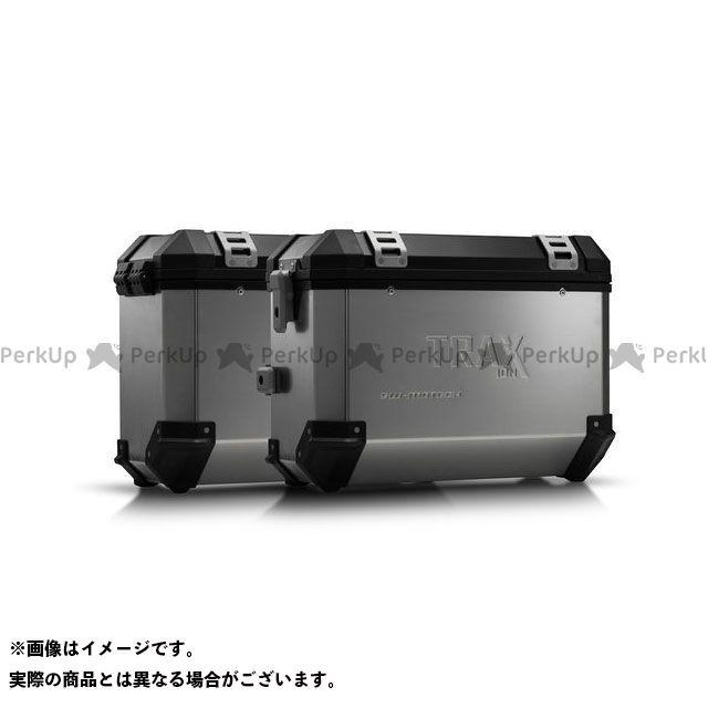 SW-MOTECH XL700Vトランザルプ ツーリング用ボックス TRAX ION アルミニウムケース システム. ブラック 37/37 l. Honda XL 700 V Transalp(07-12). SWモテック