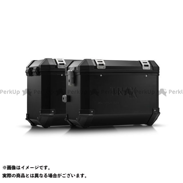 SW-MOTECH XL700Vトランザルプ ツーリング用ボックス TRAX ION アルミニウムケース システム. シルバー 37/37 l. Honda XL 700 V Transalp(07-12). SWモテック