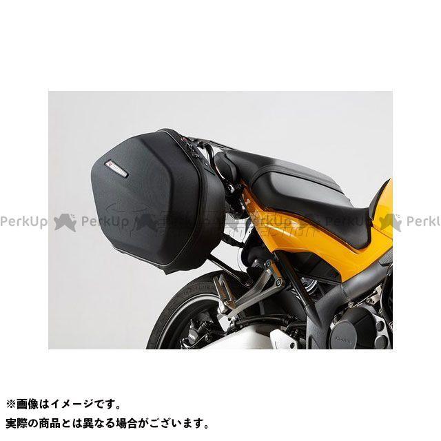 SW-MOTECH CB650F CBR650F ツーリング用ボックス AERO ABS サイドケースシステム ABS/600 HCF ポリエステル、Honda CB 650 F(14-) SWモテック