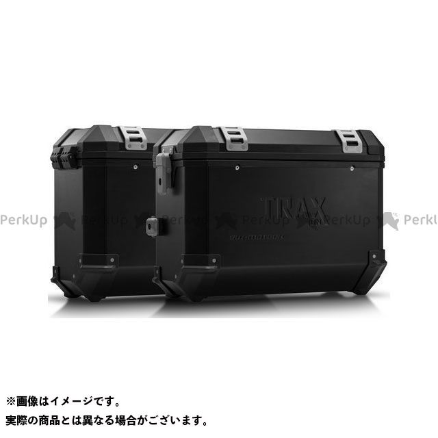 SW-MOTECH VFR800X クロスランナー ツーリング用ボックス TRAX(トラックス)ION アルミケースシステム ブラック 37/37 L. Honda VFR800X クロスランナー(15-)|KFT.01.54 SWモテック